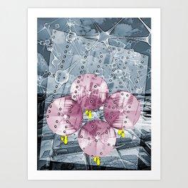 The Rain Walk Art Print