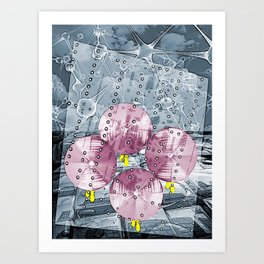 The Rain Walk Art Print