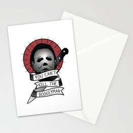 You Can't Kill The Boogeyman Stationery Cards