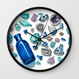 Bits From The Sea Wall Clock