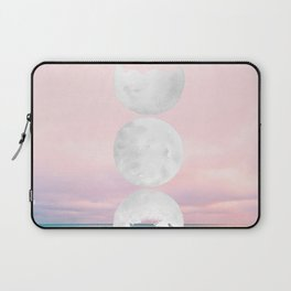 The Moon and the Tides Laptop Sleeve