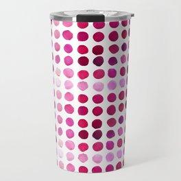 Pink Pink Polka Pink Travel Mug