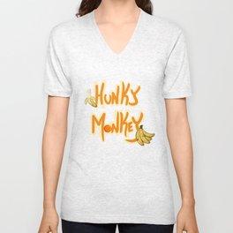 Hunky Monkey Unisex V-Neck