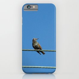 I Can't Get Out. iPhone Case