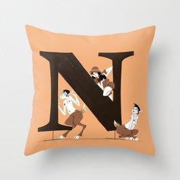Nina & Liminal Throw Pillow