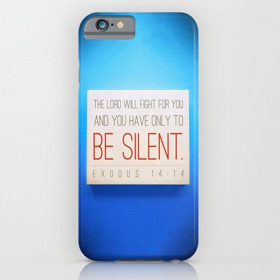 SILENT iPhone & iPod Case