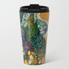 Memory of the Garden at Etten by Vincent van Gogh Travel Mug