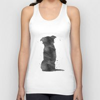 border collie Tank Tops featuring Border Collie by Carma Zoe