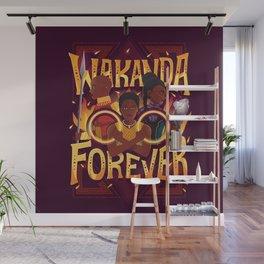 Women of Wakanda Wall Mural