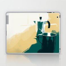 morning coffee Laptop & iPad Skin