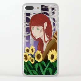 Archer Clear iPhone Case