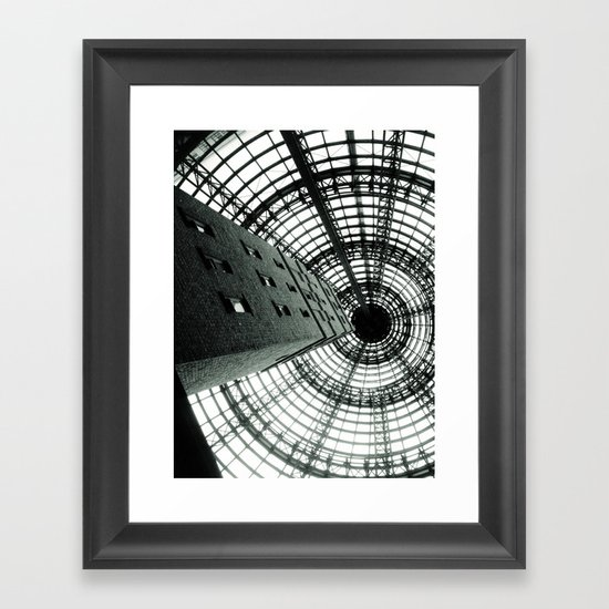 Central Shot Framed Art Print