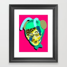 Yoo Jae-Seok/유재석. Framed Art Print
