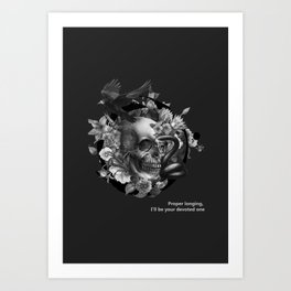 Burcu Korkmazyurek x Rituals of Mine Art Print