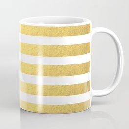 GOLD STRIPES Coffee Mug