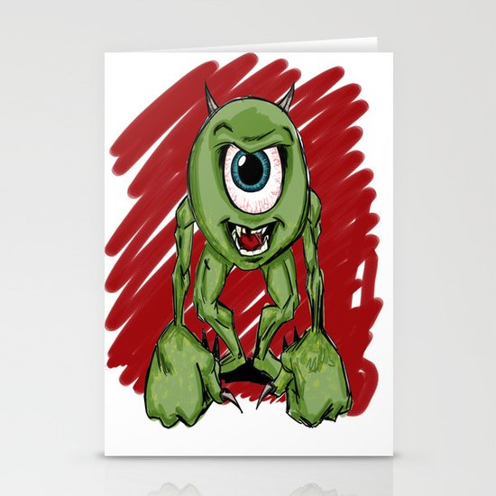 Mean Mike Stationery Cards