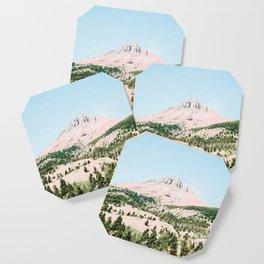 Happy Mountain #society6 #decor #buyart Coaster