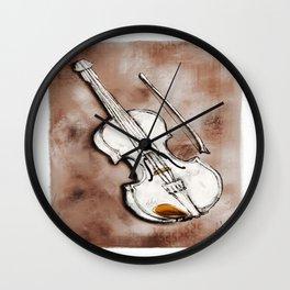 The Violin Wall Clock