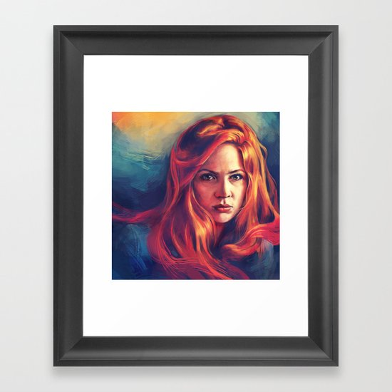 Amy Pond Framed Art Print