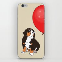 balloon iPhone & iPod Skins featuring Balloon by Meredith Mackworth-Praed