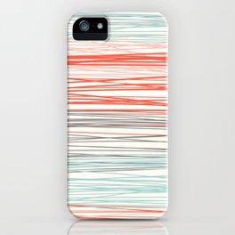 Stripey iPhone Case