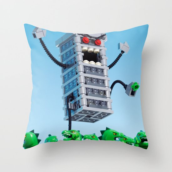 Revenge Throw Pillow