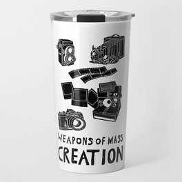 Weapons Of Mass Creation - Photography (clean) Travel Mug