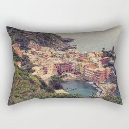 Vernazza, Cinque Terra, Italy Rectangular Pillow