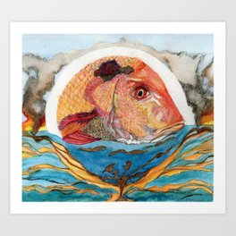 Who Owns the Ocean? Number One Art Print
