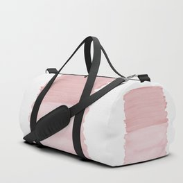 Blush Abstract Minimalism #1 #minimal #ink #decor #art #society6 Duffle Bag