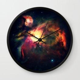Orion NEbula Dark & Colorful : Hauntingly Beautiful Series Wall Clock