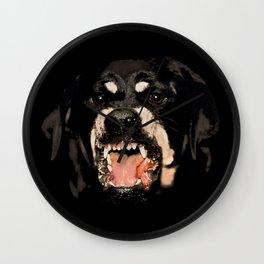 Givenchy Antigona Rottweiler Art Print Wall Clock