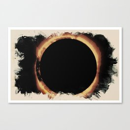 Solar Eclipse 2017 3 Canvas Print