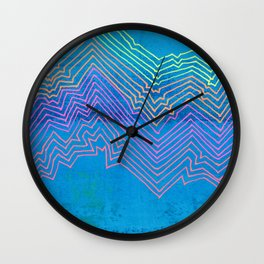 Linear No. 12 Wall Clock