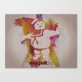stay.puft.inc Canvas Print