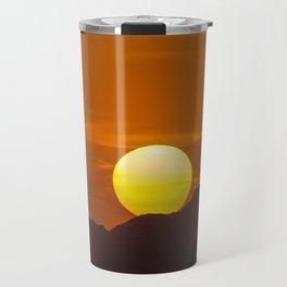 """""""Desert Sunset 1"""" by Murray Bolesta Travel Mug"""
