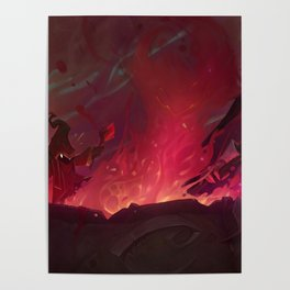 Doom Bots Promo Art League Of Legends Poster