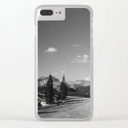 Yosemite Road Trip Clear iPhone Case