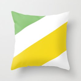Mediterranean Sailing boat Throw Pillow