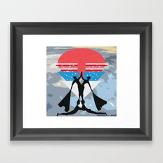 man power Framed Art Print
