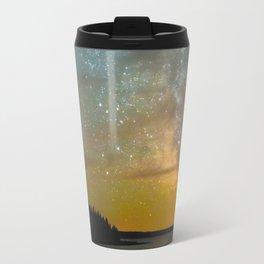 Milky Way Galaxy in Manitoba Travel Mug