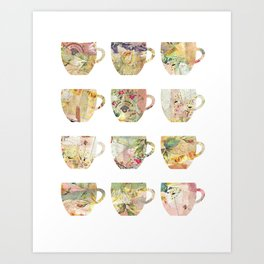 The art of Tea Art Print