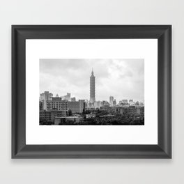 Taipei 101 Framed Art Print