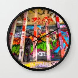 Leake Street Graffiti Artist Wall Clock