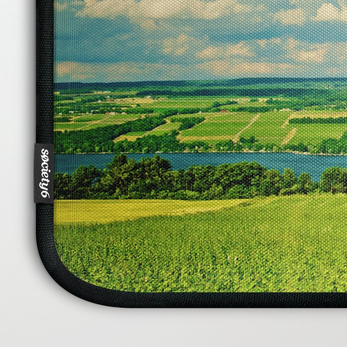 Seneca Lake Wine Road Laptop Sleeve