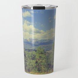 Boreas Pass Mountainscape Travel Mug