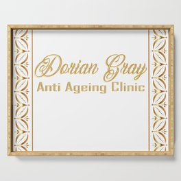 Dorian Gray Anti Ageing Clinic Serving Tray