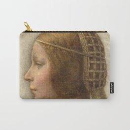 "Leonardo da Vinci ""Bella principessa"" Carry-All Pouch"