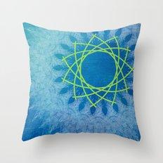 Ice Rotation Throw Pillow