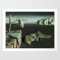 Persistence of Memory 2 Art Print
